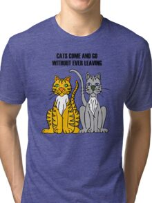 Cartoon Tigers Tri-blend T-Shirt