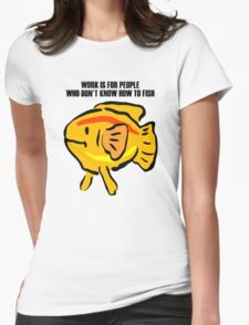 Fish Womens Fitted T-Shirt