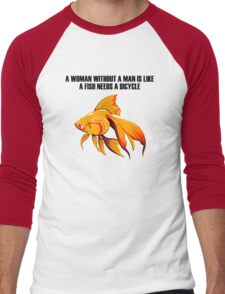 Goldfish Men's Baseball ¾ T-Shirt
