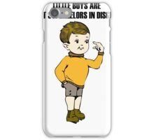 Little Boy iPhone Case/Skin