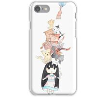 Cat Lady Picture iPhone Case/Skin
