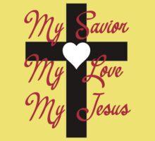 My Savior, my love, my Jesus Baby Tee