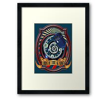 The Twelfth Doctor - Lords Of Time And Space Framed Print