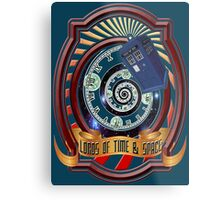 The Twelfth Doctor - Lords Of Time And Space Metal Print