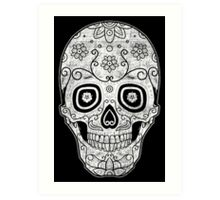 Sugar Skull Cinco De Mayo Art Print