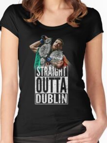 McGregor - Straight Outta Dublin Women's Fitted Scoop T-Shirt