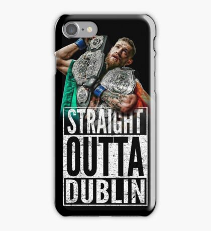 McGregor - Straight Outta Dublin iPhone Case/Skin