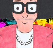Tina Belcher  Working girl Sticker