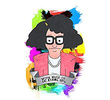 Tina Belcher  Working girl Photographic Print