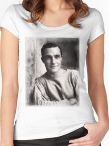 Gene Kelly, Actor and Dancer Women's Fitted Scoop T-Shirt