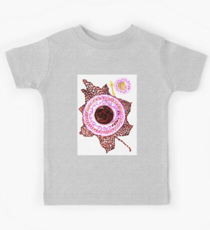 Cup of Coffee Art Kids Tee