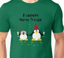 Penguin Party Happy New Year  Unisex T-Shirt
