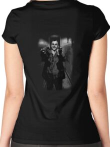 Taxi Photographer Women's Fitted Scoop T-Shirt