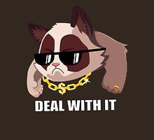 Deal with it Grumpy cat Unisex T-Shirt