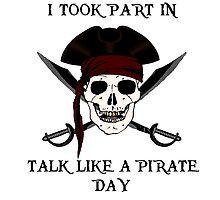 I Took Part In: Talk Like a Pirate Day by scruffyjate