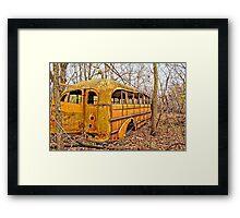 Forever Camped Out Framed Print