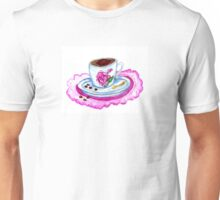 Cup of Coffee Art 2 Unisex T-Shirt