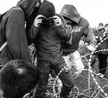 Teenage Anarchist by redartistry
