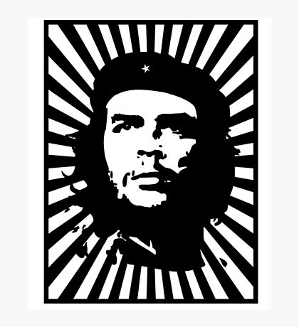 Che Guevara Shirt Photographic Print