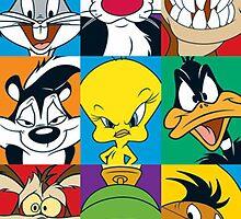 Looney Tunes by gwafu