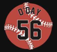 Darren O'Day Baseball Design by canossagraphics