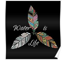 Standing Rock Water is Life No DAPL All Life  Poster