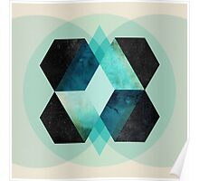 Galaxy Hex Poster