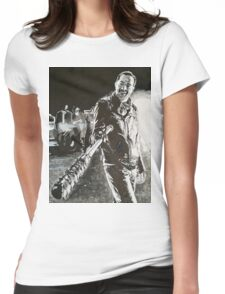 Negan - This is Lucille  Womens Fitted T-Shirt