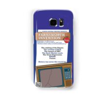 NC Theatre presents THE FARNSWORTH INVENTION by Aaron Sorkin Samsung Galaxy Case/Skin