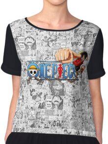 One Piece Chiffon Top