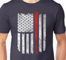 American Flag Baseball Unisex T-Shirt