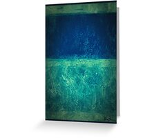 Imagining Rothko III Greeting Card