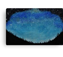 Night Sky #2 Canvas Print