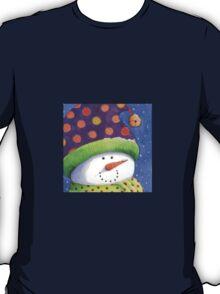 Cute Christmas snowman  T-Shirt