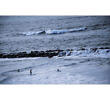 Surfboards & Waves Photographic Print