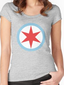 Captain Chicago Women's Fitted Scoop T-Shirt