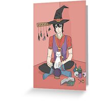Witch Keith - Voltron Greeting Card