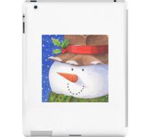 Cute country snowman iPad Case/Skin