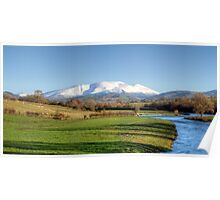 Skiddaw And The River Derwent Poster