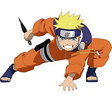 cartoon naruto japan Photographic Print