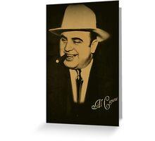 ˜` AL CAPONE ) ˜` Greeting Card