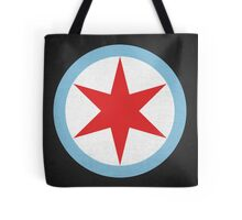 Captain Chicago Tote Bag