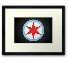 Captain Chicago Framed Print