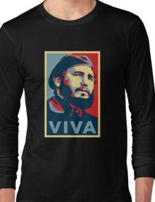 Fidel Castro Long Sleeve T-Shirt