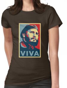 Fidel Castro Womens Fitted T-Shirt