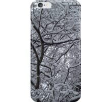 Snowy Branches in Wonderland iPhone Case/Skin