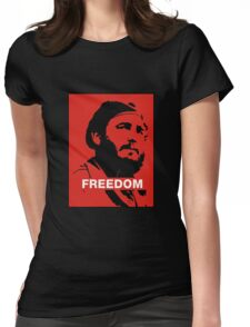 Freedom Fidel Castro Womens Fitted T-Shirt