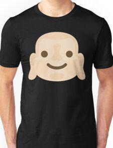 Buddha Emoji Happy Smiling Face Unisex T-Shirt