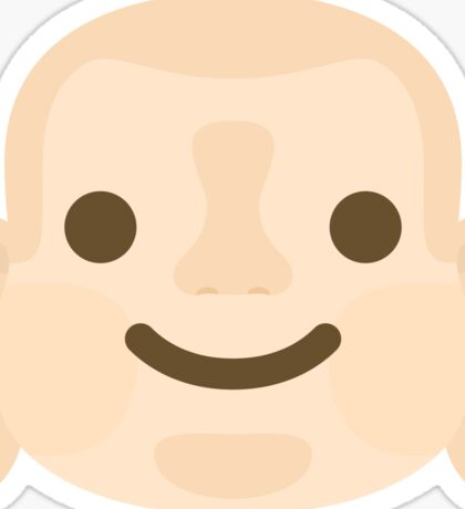 Buddha Emoji Happy Smiling Face Sticker