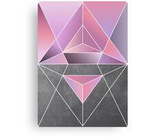 Polar geometry Canvas Print